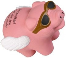 Flying Pig Stress Balls