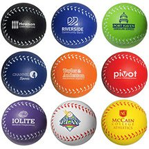 Baseball Stress Balls - Colors