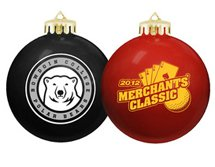 USA Made Round Shatterproof Ornaments