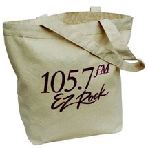 "20"" x 17.5"" Jumbo Biodegradable Cotton Tote Bags"