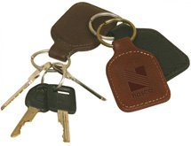 Star Canyon Leather Keychains