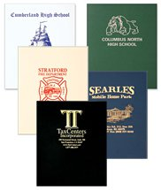 "9.625"" x 11.75"" Leatherette Presentation Folders"