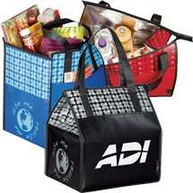 Laminated Non-Woven Insulated Big Grocery Totes