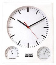 Weather Station Wall Clocks