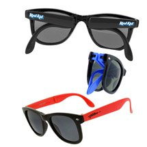 Collapsible Frame Wayfarer Retro Sunglasses