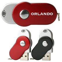 Orlando USB Flash Drive with Neck Lanyard