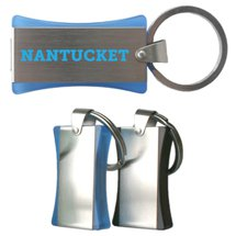 Nantucket Retractable USB Flash Drive with Key Ring