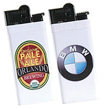 Super Slim Lighters with Full Color Imprint
