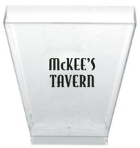 1.75 oz. Clear Square Tasting Cups