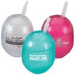 96 Custom 12 oz. Plastic Coconut Tumblers