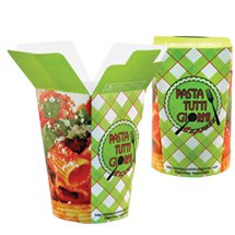 18 oz. Paper Hot FoldTop® Containers