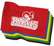 "18"" Colored Rally Towels"