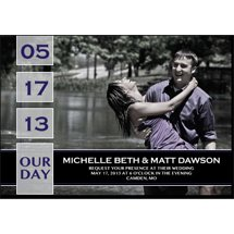 "Save The Date Magnets, Rectangle 4.875"" x 3.375"""