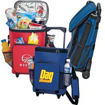 18-Can Rolling Insulated Cooler Bags