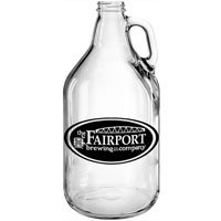 64 oz. Clear Growlers