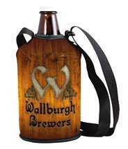 Full Color Neoprene Growler Cover with Strap