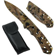 Bushmaster Camo Folder Knife