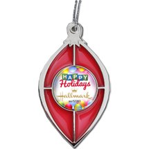 Stained Glass Ornaments with Full Color Dome