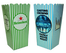 "4"" x 6"" Small Scoop Style Popcorn Boxes - Custom"