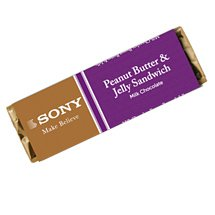 Hebert PB & J Sandwich Milk Chocolate Bars