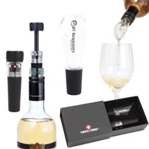 Swiss Force Aromatic Wine Stopper & Aerator Sets