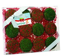 Chocolate Covered Oreo® Gift Box - Holiday Nonpareil Sprinkles
