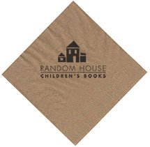 Recycled 1-Ply Kraft Beverage Napkins