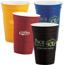 12 oz. Double Wall Ceramic Game Day Cups