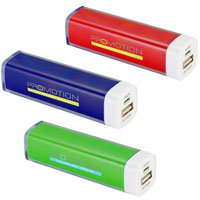 2200 mAh Full Color Charge it Up Power Banks
