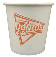 10000 Custom 4 oz. High Quantity White Hot or Cold Paper Cups