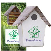 Card Stock Bird House Kit with Presentation Sleeve