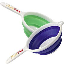 Collapsible Strainer with Handle