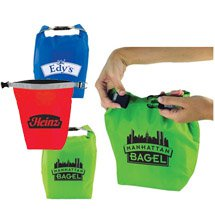 Roll and Clip Lunch Cooler Bags