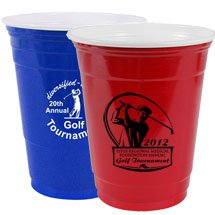 16 oz. Disposable Red Solo Cups