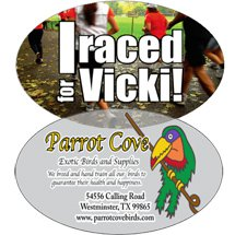 "6"" x 4"" Oval Decals - Full Color"