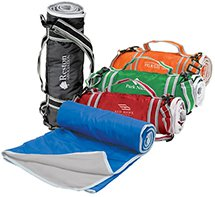 Fleece Picnic Blanket with Carry Strap