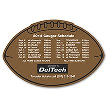Economy Schedule Football Magnets