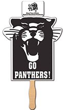 Panther Coupon Hand Fans