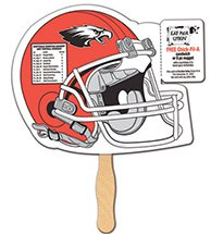 Helmet Coupon Hand Fans