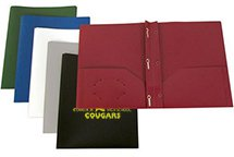Confidential Three Prong Twin Pocket Folders