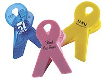 Awareness Ribbon Magnetic Clips