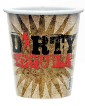 250 Custom 9 oz. Full Color White Paper Cold Cups