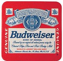 250 Custom 3.5 in. Square 60 pt. Full Color Digital Drink Coasters