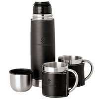 24 Custom Stainless Steel Thermos and Cup Sets