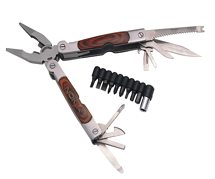 Dakota Phoenix Large Wood Handle Multi-Function Tool