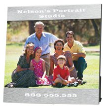 "5"" x 7"" Aluminum Photo Frames"