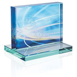 Horizontal Jade Glass Awards