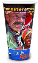 32 oz. White Plastic Cups with Full Color Graphics
