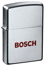 Zippo® Satin Chrome Lighter - Imprinted