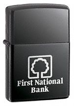 Zippo® Black Ice Lighter - Imprinted